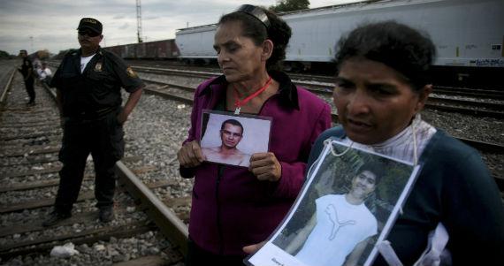 Caravana de Madres Centroamericanas buscando a us Migrantes Desaparecidos 2013. Foto: Cuartoscuro