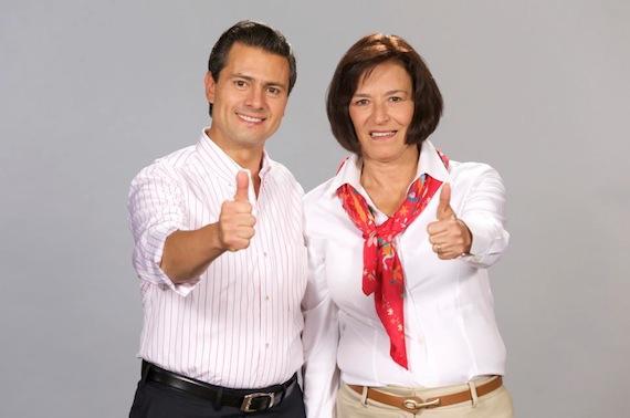 Foto de campaña de Victoria Labastida para el Senado de la República.