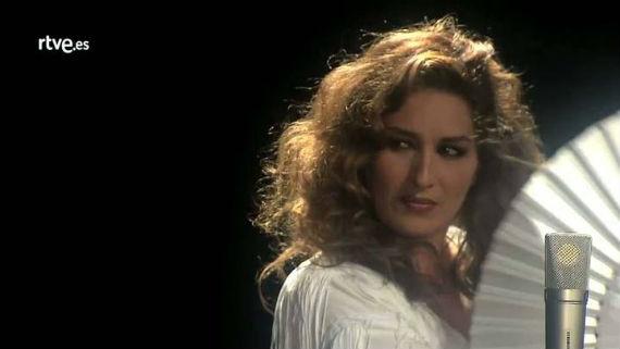 Estrella Morente canta por Lola. Foto: TVE