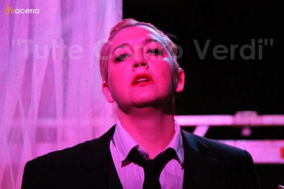 La soprano cuestiona el destino fatal de la mujer en la ópera. foto: Facebook