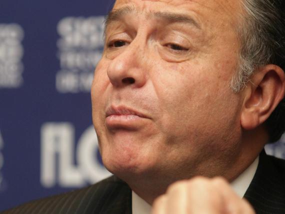 Oscar Naranjo, asesor de Peña Nieto. ¿Repetir el modelo Colombia? Foto: Cuartoscuro