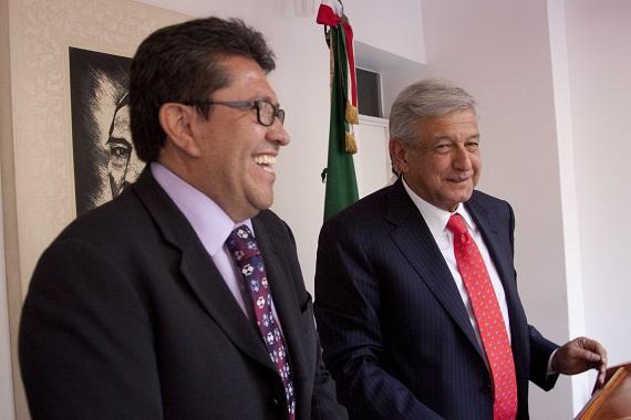 Monreal infiere que su amigo, Andrés Manuel López Obrador,  no aceptará el llamado a la unidad con el PRD pues éste partido perdió la brújula como oposición. Foto: Cuartoscuro