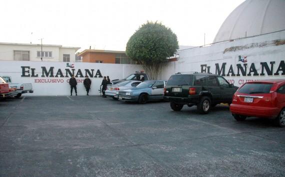 El Mañana de Nuevo Laredo, Tamaulipas, es uno de los diarios mexicanos que ha sido blanco de ataques del crimen organizado. Foto: Cuartoscuro