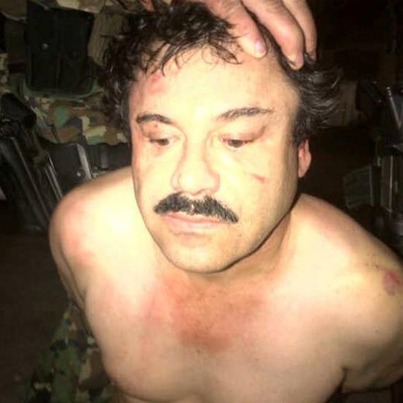 """La DEA confirma captura del """"Chapo"""" Guzman y tiene sus huellas digitales. 40222055"""