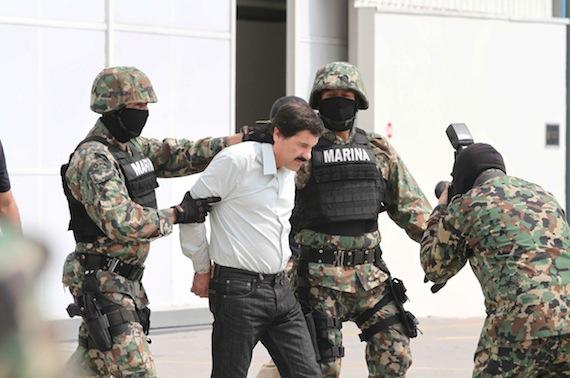 """La DEA confirma captura del """"Chapo"""" Guzman y tiene sus huellas digitales. 40222057"""