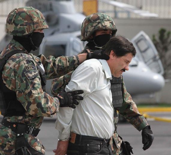 """La DEA confirma captura del """"Chapo"""" Guzman y tiene sus huellas digitales. 40222059"""
