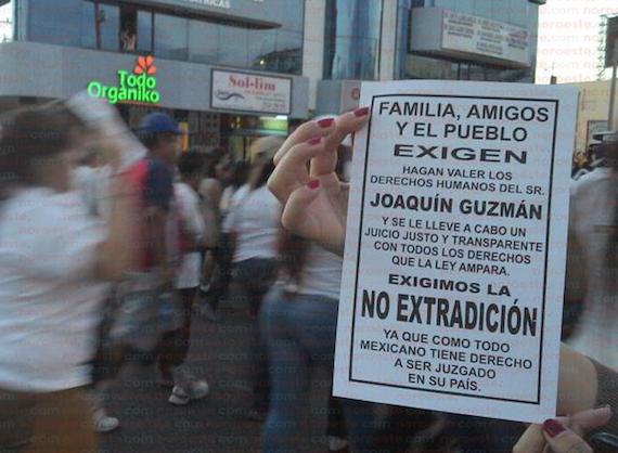 Ciudadanos responden y convocan a otra marcha por la dignidad de Sinaloa. Foto: Noroeste