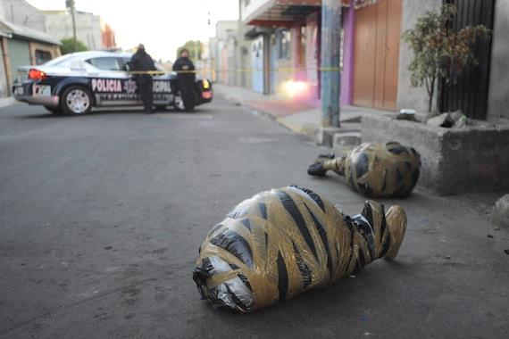 Dos cuerpos fueron hallados en Nezahualcóyotl, Estado de México Foto: Cuartoscuro
