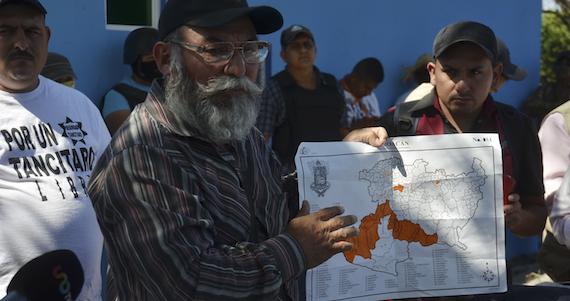 El gobierno federal y gobernadores de los estados que colindan con Michoacán acordaron blindarse de la fuga de Templarios. Foto Cuartoscuro