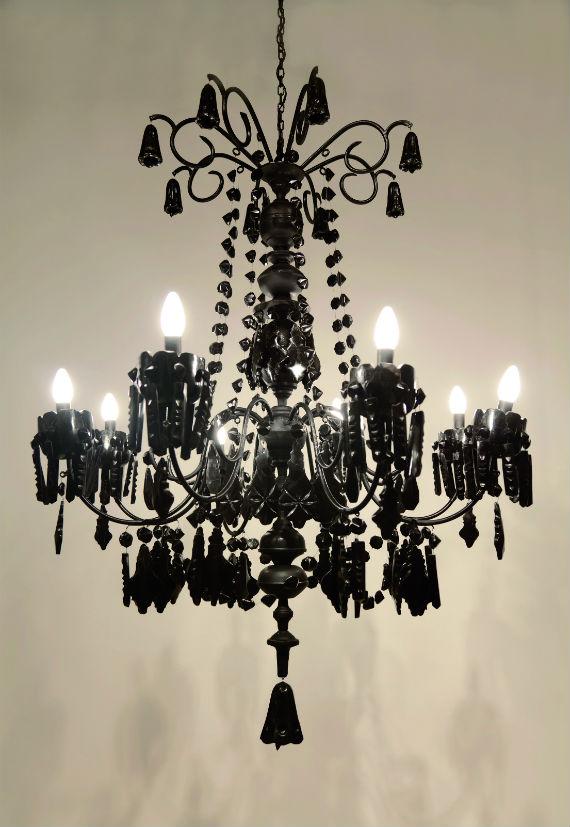 Lámpara, por Alejandra Prieto. Foto: ZM