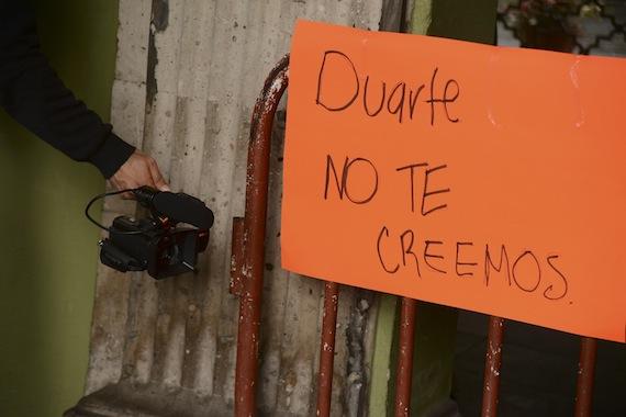 El gobierno de Duarte ha sido acusado por ONG'S y activistas de ser autoritario y represor. Foto: Cuartoscuro