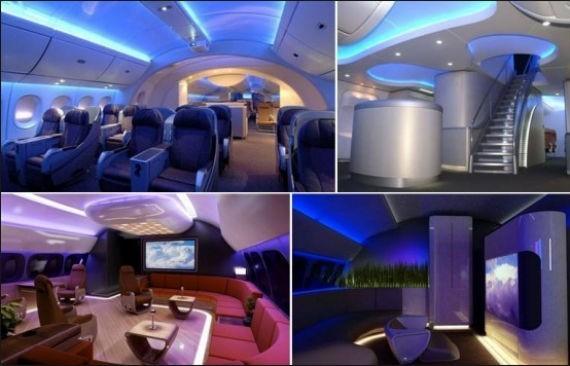 Interiores del modelo comprado por el gobierno mexicano. Foto: http://ethiopiaforums.com