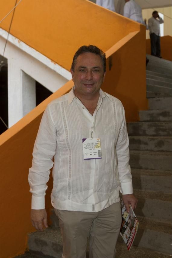El empresario acudió el 31 de diciembre de 2012 como invitado especial a la toma de protesta del Gobernador de Tabasco, Arturo Nuñez Jiménez. Foto: Cuartoscuro