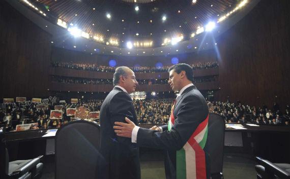 Calderón y Peña Nieto utilizan la misma estrategia en seguridad. Foto: Cuartoscuro