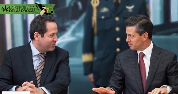El Gobernador y ex Gobernador del Estado de México, entidad que ha aumentado sus cifras de homicidios en los últimos meses. Foto: Cuartoscuro