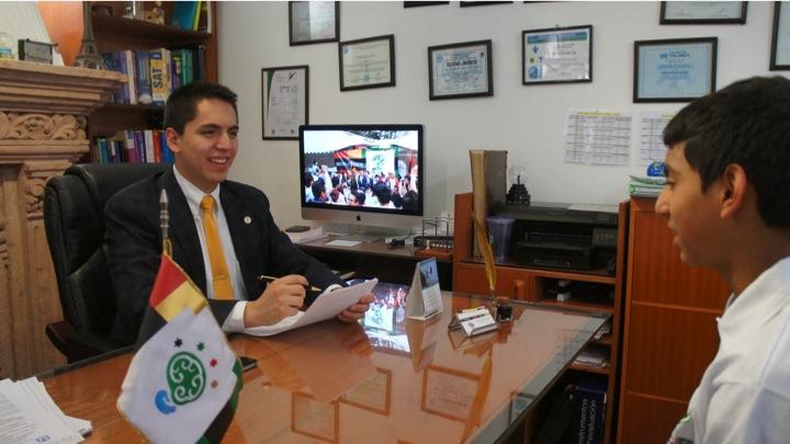 Andrew Almazán, niño superdotado que desarrolló sus habilidades / Foto: CEDAT