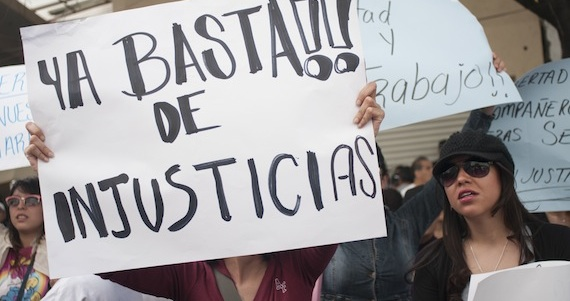 Diputadas critican leyes que criminalizan la protesta social. Foto: Cuartoscuro