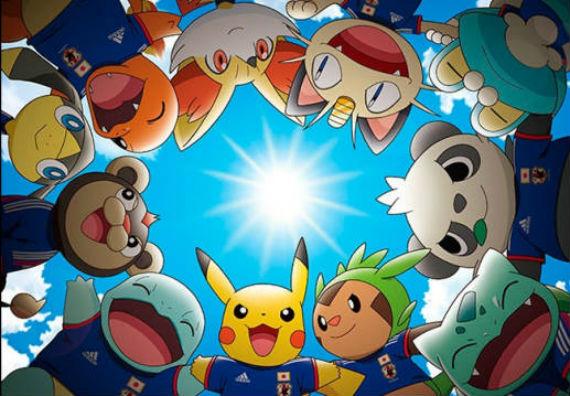 La fiebre del Mundial 2014 está influenciada por las animaciones japonesas. Foto: pokemon.co.jp