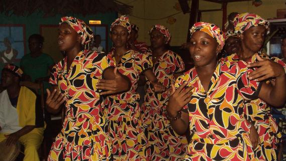 El Grupo de música y danza Garífuna Ruguma fue fundado el 19 de agosto de 1997 en Bluefields. Foto: Especial