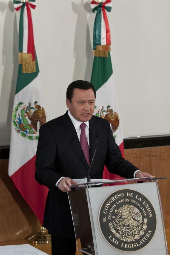 """Miguel Ángel Osorio Chong, el """"Súper Secretario"""" en el gabinete de Peña Nieto. Foto: Cuartoscuro"""