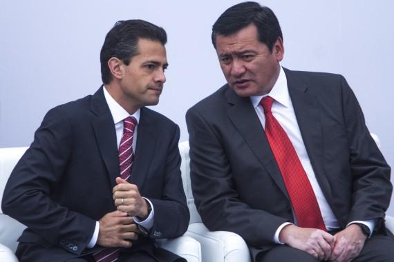 Osorio Chong el responsable de la seguridad en México. Foto: Cuartoscuro