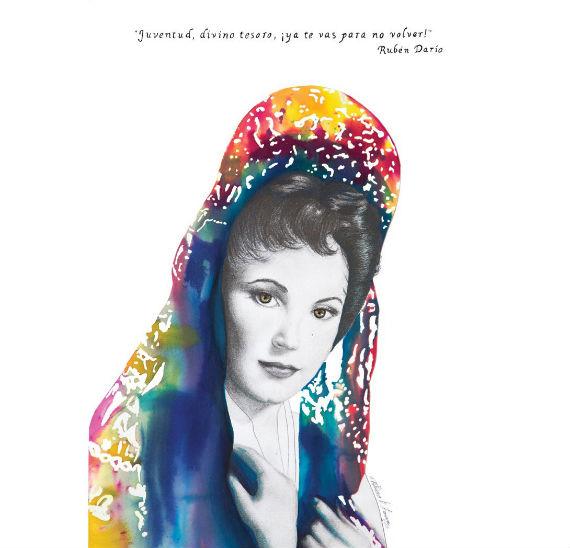 Patricia Fornos es diseñadora e ilustradora, entre otros muchos oficios ligados a la expresión. Foto: Especial