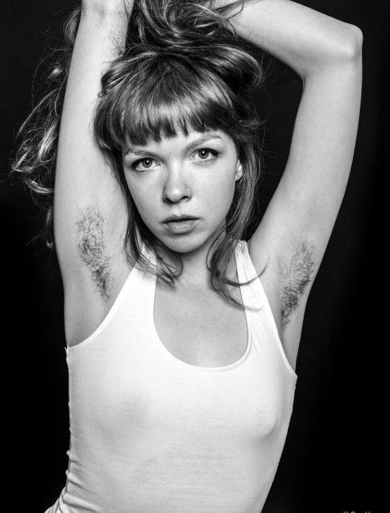 La serie fotográfica pretende reivindicar la imagen de las mujeres sin depilar Foto: Ben Hopper/https://www.facebook.com/THEREALBenHopper
