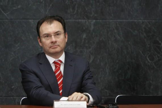 Luis Videgaray Caso, Secretario de Hacienda.  Foto: Cuartoscuro