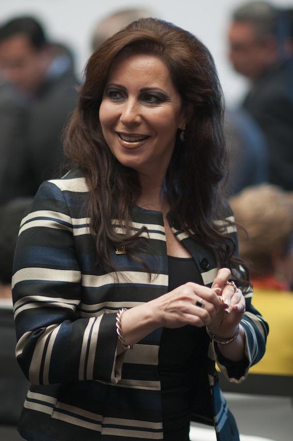 La Alcaldesa Bárbara Botello. Foto: Cuartoscuro