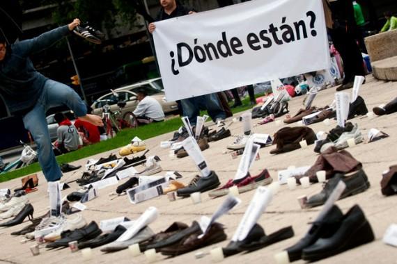 Seguirán los desaparecidos en el sexenio de Peña: activistas. Foto: Cuartoscuro