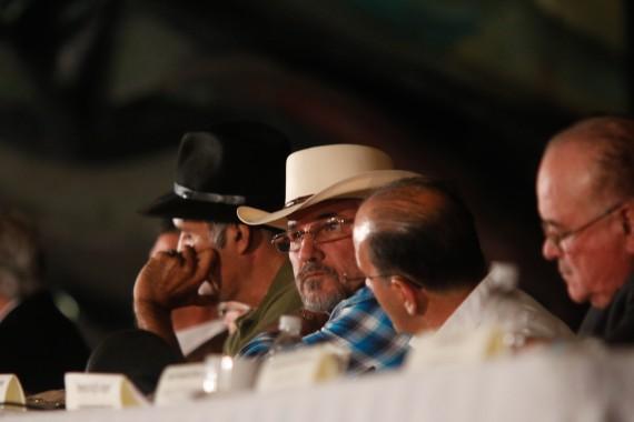 Primer Encuentro de Autodefensas Ciudadanas en la Ciudad de México. Foto: Francisco Cañedo, SinEmbargo