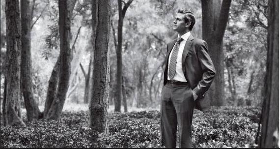 Peña Nieto en la revista Condé Nast Traveler que lo nombró uno de los principales visionarios del planeta. Foto: Condé Nast