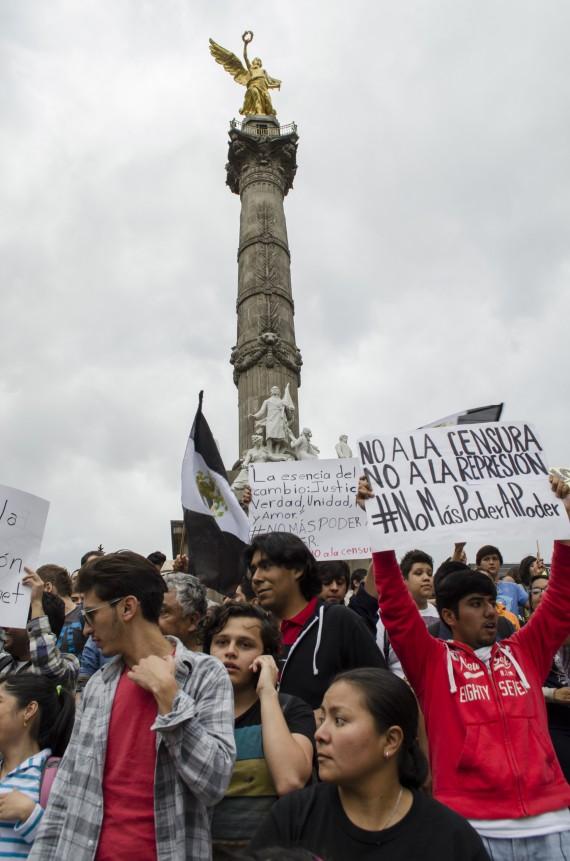 La CNDH presentó una acción de inconstitucionalidad contra la Ley de Movilidad del DF. Foto: Cuartoscuro.