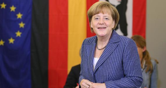 Angela Merkel, Canciller Alemana. Foto: EFE