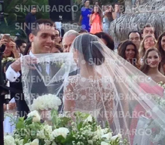 El novio tiene 42 años y la novia 22. Foto:SinEmbargo, especial