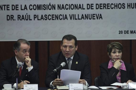 Comparecencia de Raúl Plascencia en el Senado. Foto: Cuartoscuro