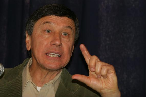 Víctor Suárez de la ANEC, una de las organizaciones que se opone al uso de transgénicos. Foto: Cuartoscuro