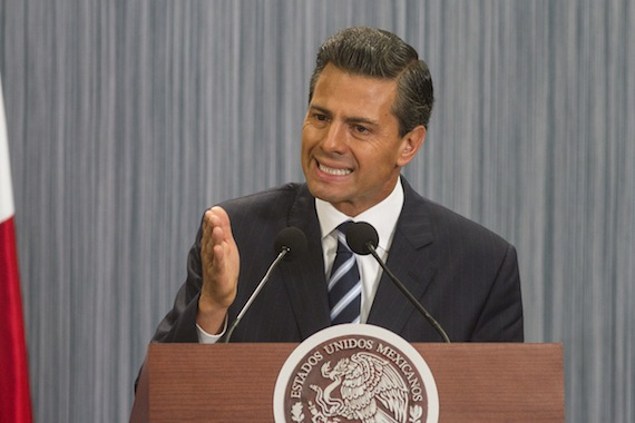 Enrique Peña Nieto, Presidente de México. Foto: Cuartoscuro.
