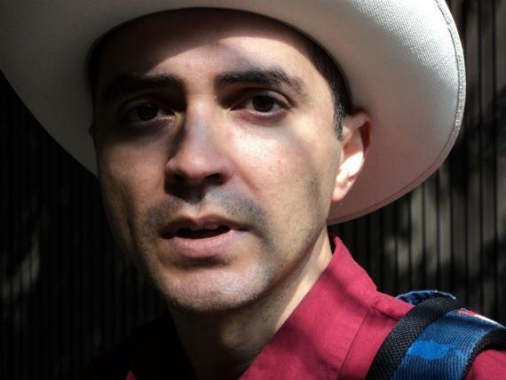 Nacido en Culiacán, en 1976. Foto: Cortesía Guillermo Arreola