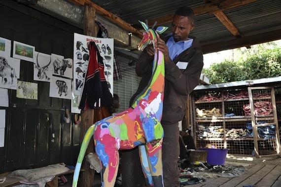 Kenia encabeza la lista de países africanos y fue destacada por los investigadores. Foto: EFE