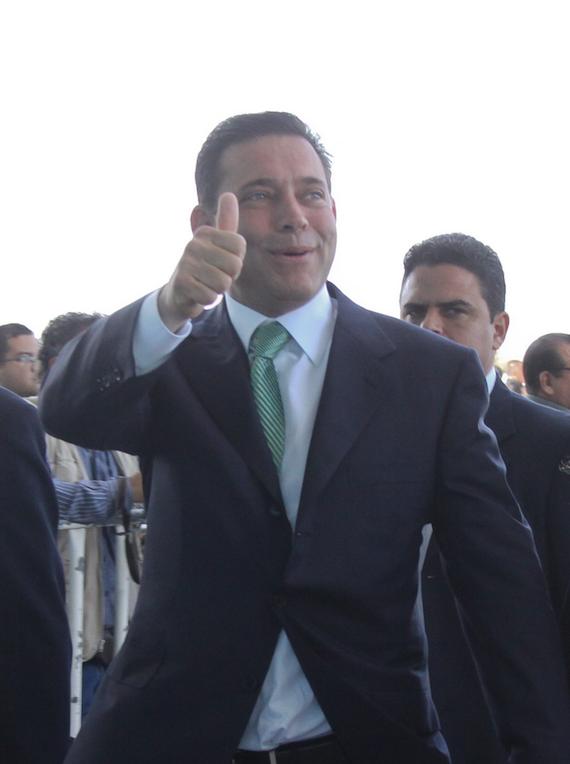 Eugenio Hernández Flores fue señalado por la DEA de recibir sobornos de Los Zetas durante su mandato (2005-2010) y lavar ese dinero en el sur de Texas. Foto: Cuartoscuro.