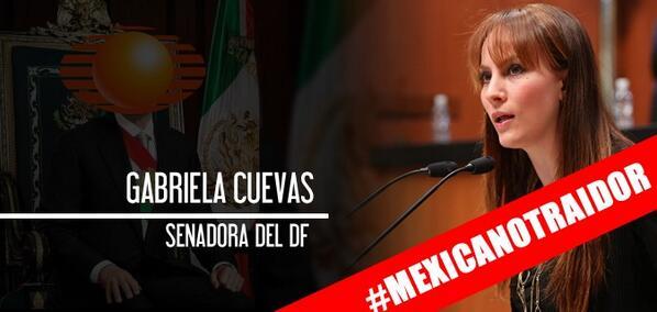 La lista del oprobio mexicano Cuevas