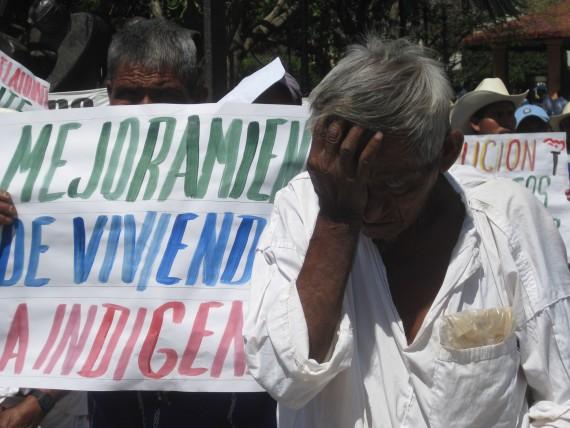 La lucha de los pueblos contra los megaproyectos. Foto: Cuartoscuro