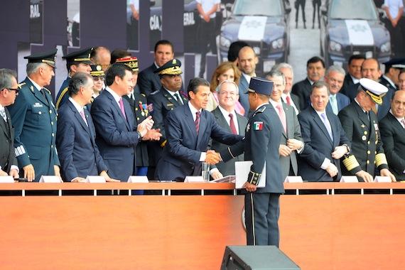 La Gendarmería Nacional, el nuevo cuerpo de seguridad que lanzó el Presidente Enrique Peña Nieto llegó tarde. Foto: Francisco Cañedo, SinEmbargo.
