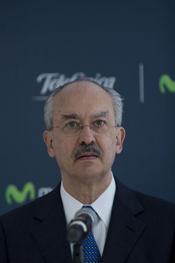 Francisco Gil Díaz, ex Secretario de Hacienda de México y presidente de Telefónica en México. Foto: Cuartoscuro