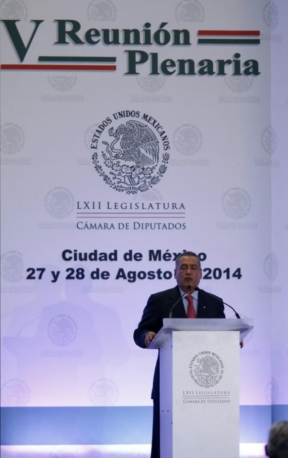 El PRI celebra reformas estructurales del Presidente Enrique Peña Nieto en su plenaria. Foto: Francisco Cañedo, SinEmbargo