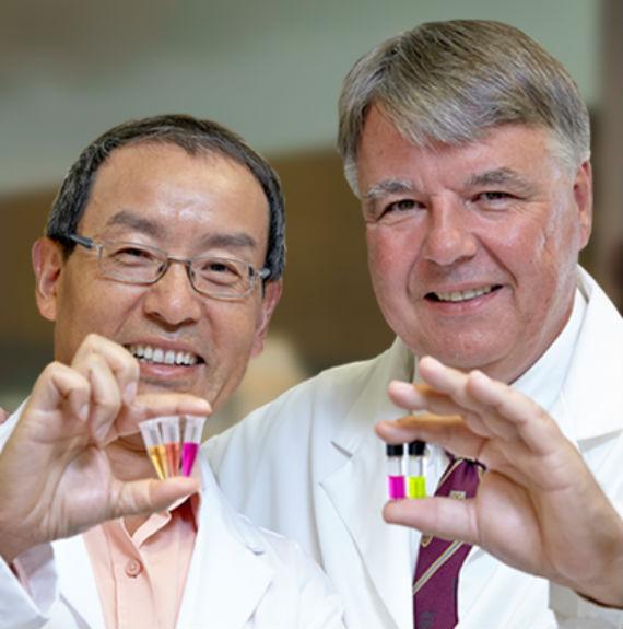 Los médicos responsables de la investigación. Foto:Canadian Cancer Society