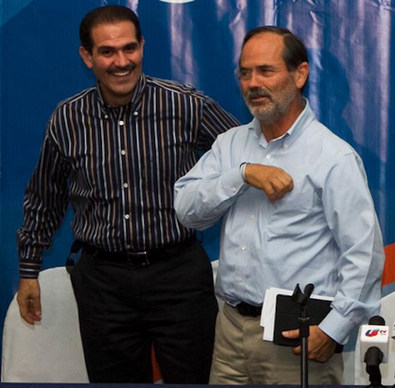 Madero respaldó a Padrés. Foto: Cuartoscuro.