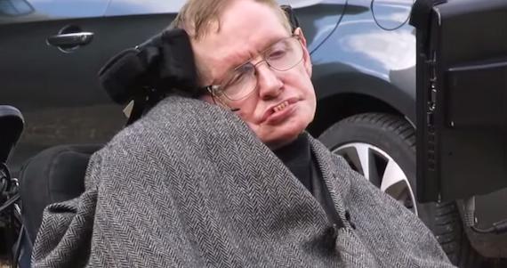 El científico británico Stephen Hawking. Foto. Youtube