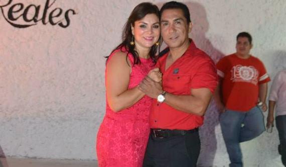 José Luis Abarca y su esposa María de los Ángeles Pineda Villa. Foto: Especial.